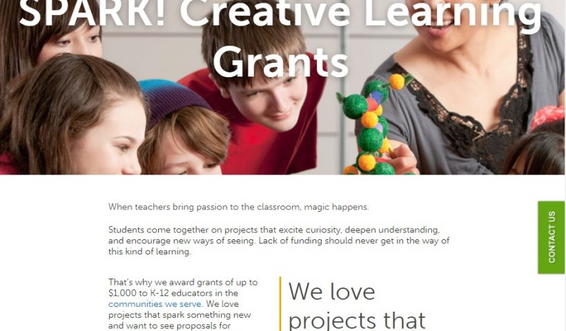 Selco Creative Learning Grants