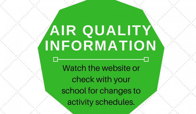 Air quality information notice
